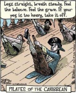 Pirates du Pilates !